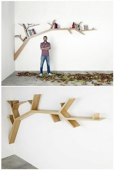 book shelf - very cool. Who can make it for us?