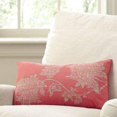 Andover Mills Rogan Cotton Pillow Cover Size: x Colour: Coral Coral Pillows, Diy Pillows, Outdoor Throw Pillows, Accent Pillows, Farmhouse Decorative Pillows, Decorative Throw Pillows, Throw Pillow Sets, Pillow Talk, Cotton Pillow