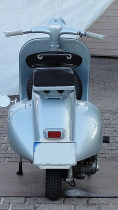 Vespa 150 VB1T 1958 Originallack Grigio Azzurro Metallizzato 15028