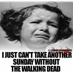 No Walking Dead Sunday