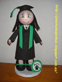 PIÑATAS  LAS PALMAS: Fofucha de Graduación
