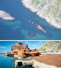Abandoned Scandinavia Murmansk Ship 2