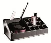 Organisateur pour maquillage et produits de beauté, coloris noir
