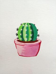 Gouache Painting, Planter Pots, My Arts