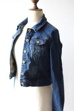NEVER USED. French denim jacket woman. Denin jacket never used. Blue jeans. French jacket. Vintage jaket. French fashion. Vintage Levis.