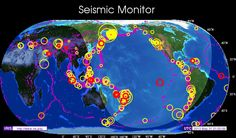 Earthquake Activity - Seismic Monitor | Resources | Year Zero Survival