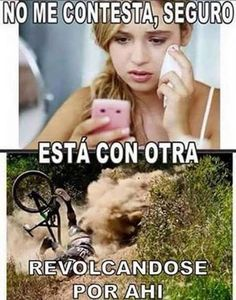 Motorcycle Tips for the Beginner Riding Enthusiast Funny Spanish Jokes, Spanish Humor, Funny Images, Funny Pictures, Funny Adult Memes, Mexican Memes, Bike Illustration, Humor Mexicano, Funny Scenes