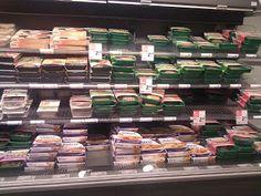 Vegetarische Auswahl in einem holländischen Supermarkt