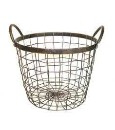 New Blanket Basket with Lid