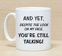 Funny mug, Mug with sayings, Funny coffee mug, Mug gift, Sarcasm mug, Sarcasm gift, Mug for women, Mug for men, Work mug, Office mug, Mugs, by SuburbanCottageUK on Etsy Coffee Mug Quotes, Funny Coffee Mugs, Coffee Humor, Funny Mugs, Funny Gifts, Funny Coffee Sayings, Funny Christmas Gifts, Christmas Humor, Christmas Sayings