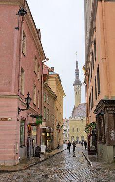 Tallinn, Estonia. Been there!