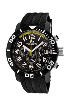 TW Steel Men's Grandeur Diver Chronograph Watch