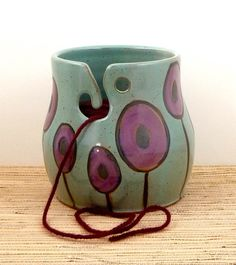 Yarn holder @Sue Goldberg Goldberg Rath