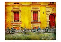 Bicicletta IV Print by Robert Mcclintock at Art.com