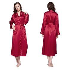 a94fe146c54 Long Sleeve Silk Robes For Women Product Description Place of Origin   Vietnam Material  100