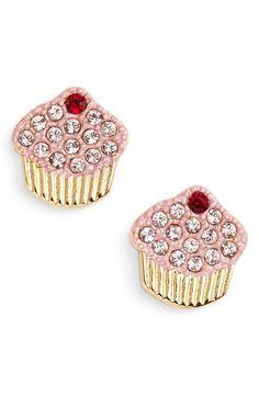 Kate Spade New York 'Things We Love ~ Cupcake' Stud Earrings