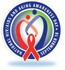 Check out the new logo for National HIV/AIDS and Aging Awareness Day, September 18.