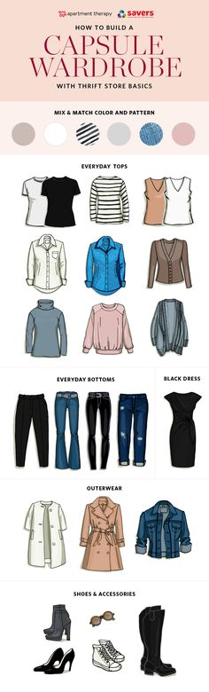 Building a Capsule Wardrobe with Thrift Store Basics — Sponsored by Savers