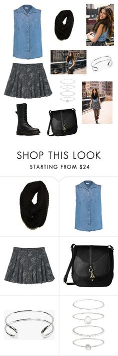 """""""Inspiration: 💗Selena Gomez💗"""" by delfina-here ❤ liked on Polyvore featuring adidas NEO, Paula Bianco, Splendid, Calvin Klein, Giles & Brother, Accessorize and Dr. Martens"""