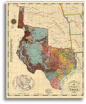 Republic of Texas 1845 by John Davis Texas Map Store Old Maps, Antique Maps, Vintage World Maps, Map Store, Santa Fe Trail, Republic Of Texas, Fredericksburg Texas, Texas Shirts, Loving Texas