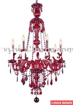 Popular Red Crystal Chandelier From China Bestselling Red Crystal - Red chandelier crystals