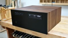 Building a wooden home theater PC computer case.