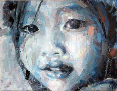 Les visages d'Henri Lamy Henri Lamy est notre coup de coeur du moment avec ses peintures figuratives, il travaille plus particulièrement sur les visages où