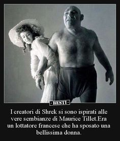"Was Maurice Tillet ""The French Angel"", inspiration for Shrek? People love to say, look at how much Shrek looks like Maurice. Rare Historical Photos, Rare Photos, Old Photos, Irving Penn, Angel In French, Shrek E Fiona, Dorian Leigh, Women Names, No Photoshop"