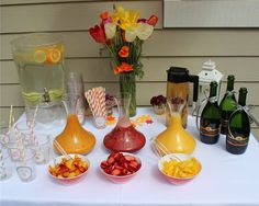 Brunch Baby Shower Party Ideas | Photo 4 of 8 | Catch My Party