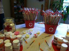 nurse party ideas   nursing graduation party!   Nursing school grad party ideas :)