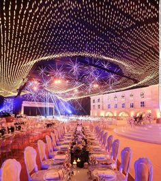 """(@lebaneseweddings) on Instagram: """"Imagine getting married under this incredible customized ceiling YES PLEASE !! ________________…"""""""