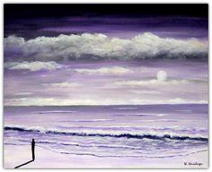Acryl/Leinwand 40 cm x 50 cm x 1,5 cm Preis 440,- Euro  Der Eremit