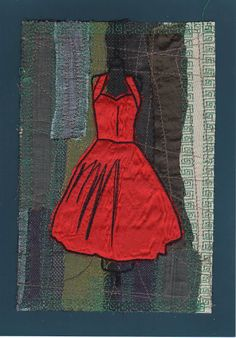 2014219  Another little red dress by Neeltje-Pops of Color