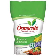 Osmocote 277960 Flower and Vegetable Smart Release Plant Food and Fertilizer 4 Pack 8 lb *** Details can be found by clicking on the image.