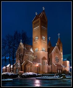 St. Simon and Helena Church, Minsk, Belarus (The Red Church)