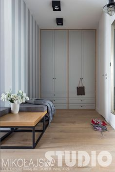 WYGODNY KORYTARZ Loft, Divider, Modernism, Furniture, Tropical, Studio, Home Decor, Wall, Stone
