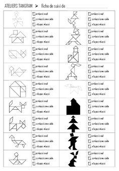 Tangrams Période 3 - Vers les maths GS