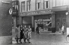 """De ACU in 1943     Het ACU staat volgens hun voor """"Anarchistisch Centrum Utrecht"""" (pagina 47). Wel creatief bedacht, maar het staat al ruim 70 jaar voor """"Auto Centrale Utrecht"""", naar het bedrijf wat vroeger in het pand zat."""