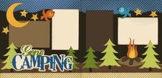 Gone Camping Page Kit