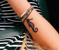 Cavalo marinho tatuagem