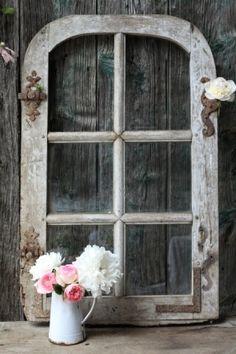 old window craft | old window craft idea