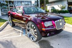 Chrysler 300 on Cadillac Cts, Cadillac Escalade, Chrysler 300 Custom, 22 Rims, Mercedes Jeep, Chrysler 300s, Donk Cars, Camaro Car, Dodge Magnum