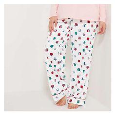 Joe Fresh Women+ Holiday Print Flannel Sleep Pants, White (Size 3X) Sleep Pants, Joe Fresh, Summer Outfits Women, Printed Pants, Striped Tee, Parachute Pants, Flannel, Underwear, Pajama Pants