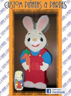 Isaacs first birthday---Harry the Bunny Birthday Party