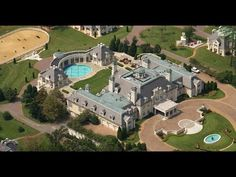 One of the Countries largest mansions selling at Absolute Auction - YouTube