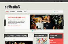 Downtown Blogger Template | Soratemplates - Premium Blogger Templates