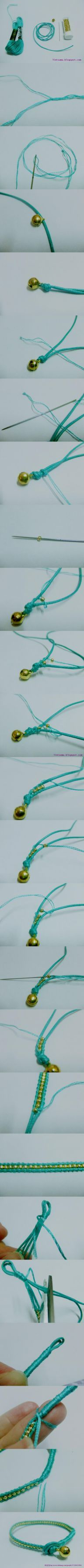 Bracelet tutorial- better pics than other one
