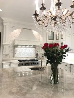 Grand Kitchen With Taj Mahal Quartzite Countertops Rai Designs Luxury Home Decor, Luxury Interior, Luxury Homes, Interior Design Career, Decor Interior Design, Furniture Design, Taj Mahal Quartzite, Grand Kitchen, Nice Kitchen