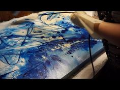 Amazing Fluid Color Abstract Painting, Acrylic Painting, Abstract Art, Acrylmalerei - YouTube
