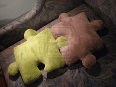 Puzzle poduszki